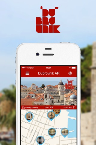 Dubrovnik AR screenshot 1