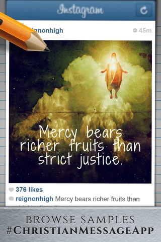 Christian Message - Share bible quotes on Instagram screenshot 3