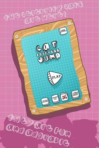 Cat Fortress Jump screenshot 3