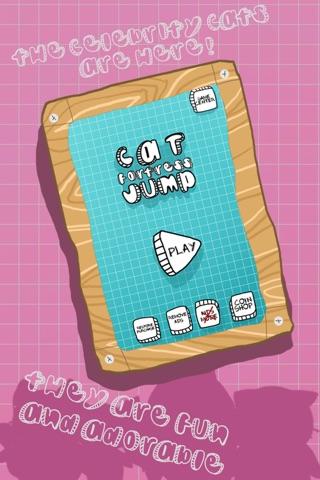 Cat Fortress Jump screenshot 3