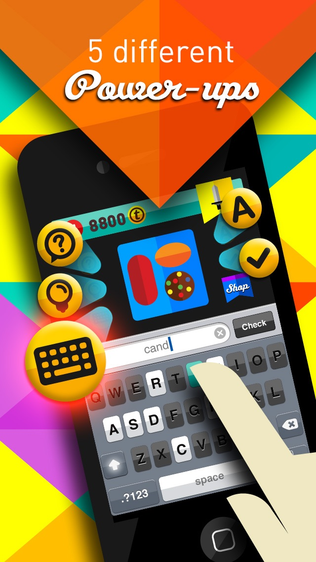 Screenshots of Icon Pop Quiz for iPhone