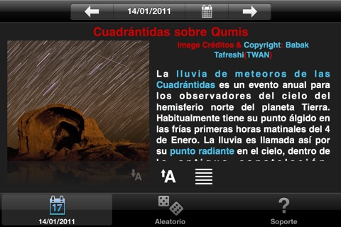 APODViewerLite - Astronomy Picture of the Day screenshot 4