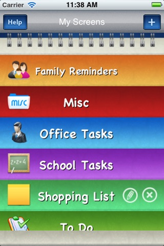 Sticky Notes with Reminders screenshot 1