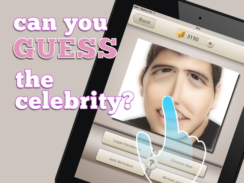 Screenshots of Cartoon Celebrity Photo Quiz: Guess The Celeb & Win! for iPad