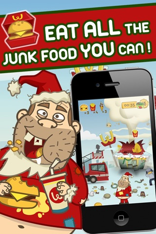 Crazy Burger Christmas - by Top Addicting Games Free Apps screenshot 2