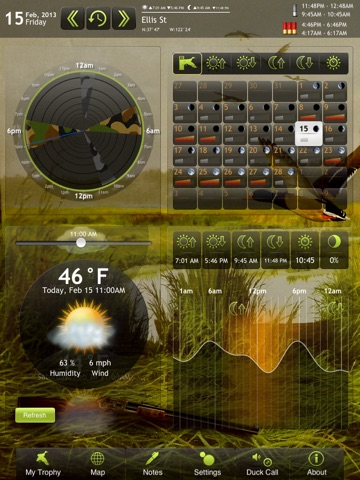 Screenshot #1 for Duck Hunting Deluxe