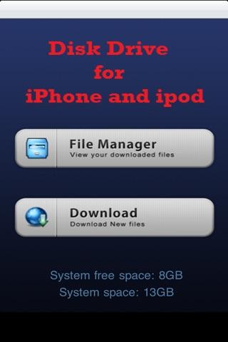 Wifi Drive Pro - Transfer Files from PC or Mac through Wifi screenshot 1