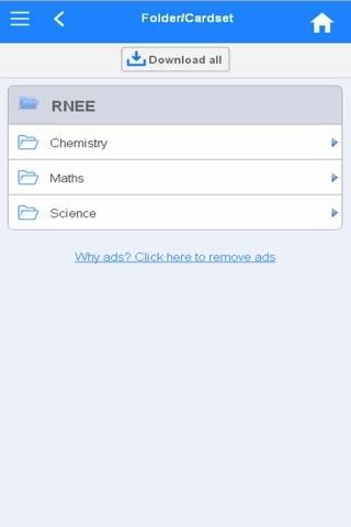 RNEE Flashcards screenshot 1