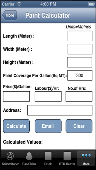 Construction Calculator For Iphone On The App Store