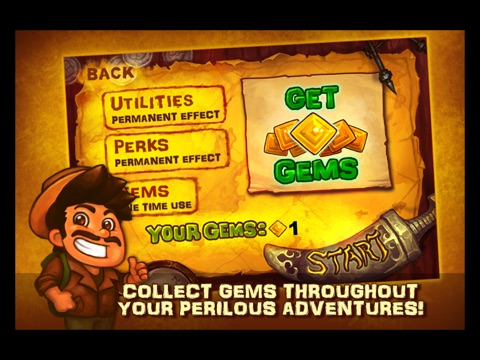 Screenshots of Oz the Explorer: Sand Temple Dash for iPad