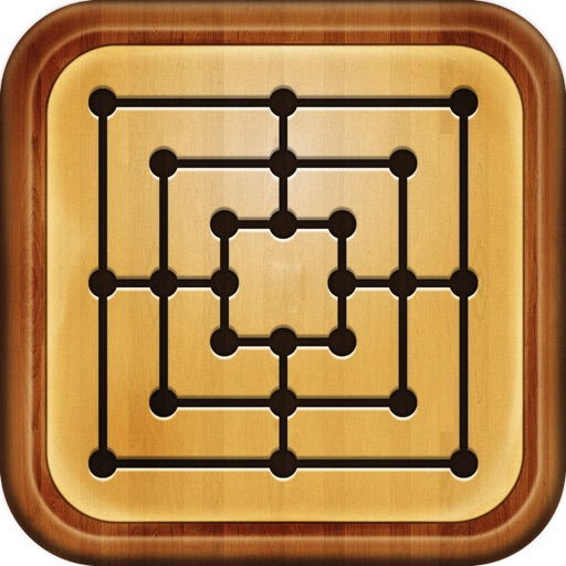 Crazy Nine Men Morris iOS App