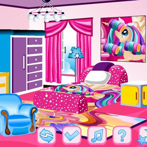 Pony Room Decoration iOS App