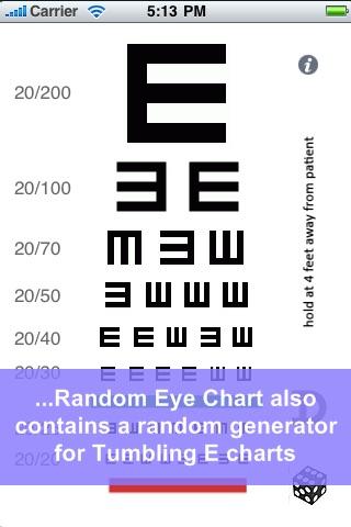 Random Eye Chart Generator screenshot 3