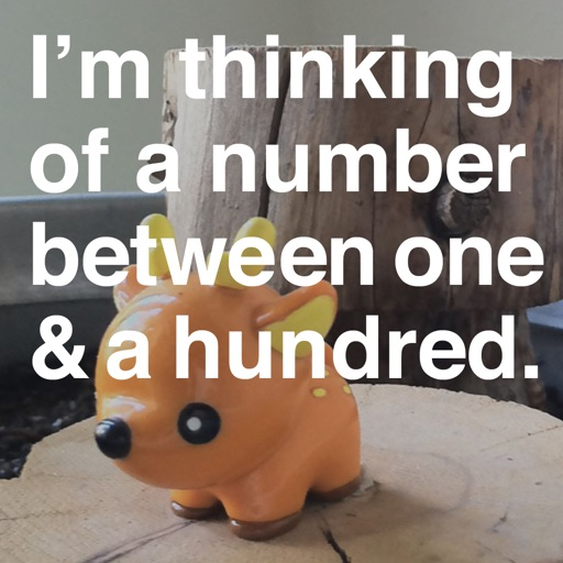I'm thinking of a number. iOS App