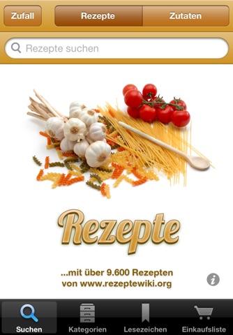 Rezepte screenshot 1