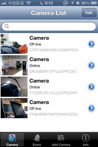 MyCam P2P screenshot 4