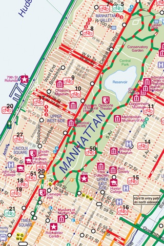 New York City Bike Map by Solo Designer