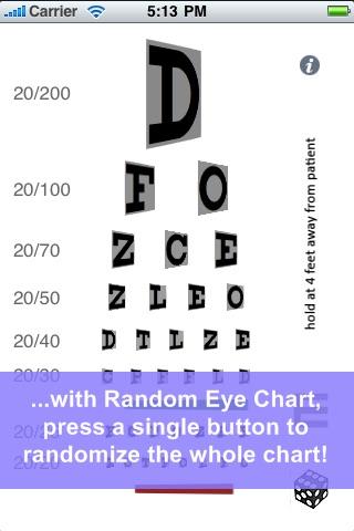 Random Eye Chart Generator screenshot 2