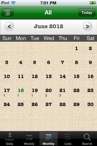 Daily Tasks (To Dos) screenshot 4