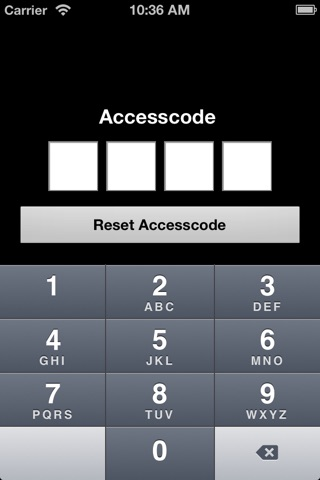 Credex Alarm Remote Control screenshot 1