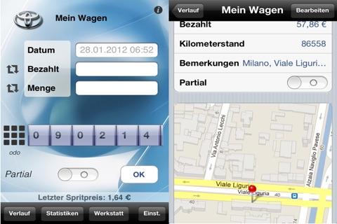 myFuelLog Lite screenshot 1