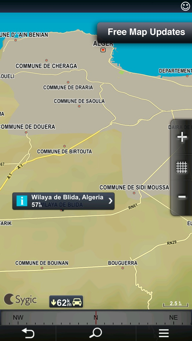 download Sygic Algeria & Tunisia: GPS Navigation apps 3