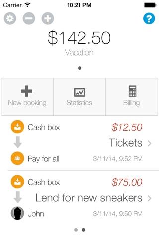 iCashBox screenshot 2