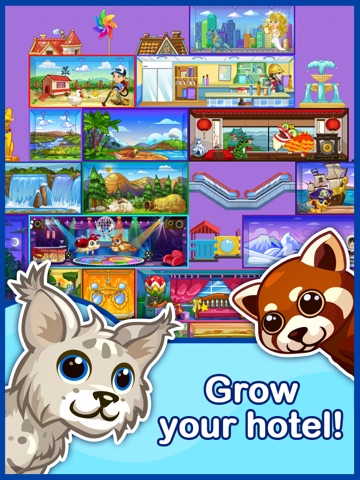 Screenshots of Tap Pet Hotel for iPad
