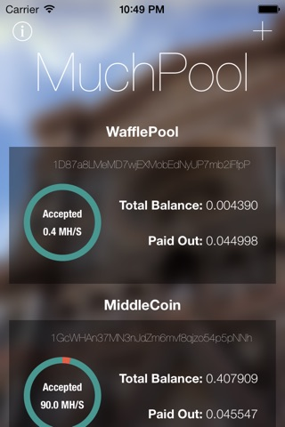 MuchPool screenshot 1