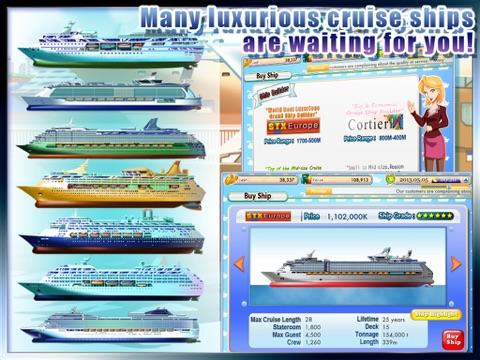 Screenshot #3 for Cruise Tycoon HD