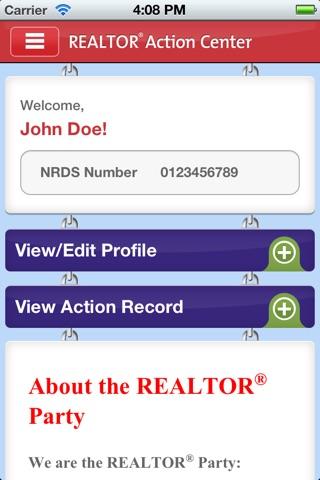 NAR Action Center screenshot 1