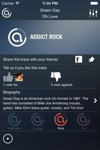 AddictRadio screenshot 3