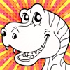 Color Mix HD (Dinosaur) - Learn Paint Colors by Mixing Paints & Drawing Dinosaurs for Preschool