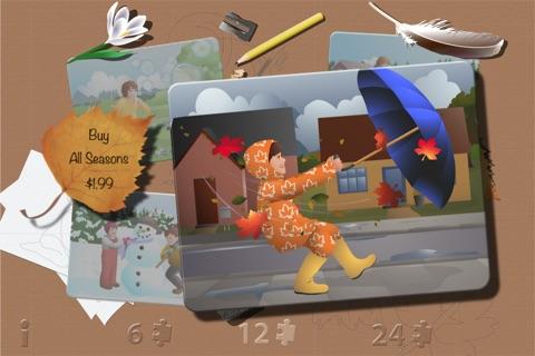 Jigsaw Seasons Free screenshot 1