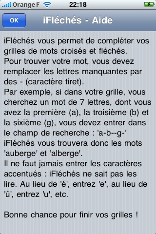 Résolution Fléchés/Croisés screenshot 4