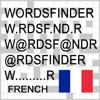 WordsFinder Français/French - trouver les meilleurs mots pour mots croisés, Wordfeud, Scrabble, cryptogramme, anagramme et vérification orthographique