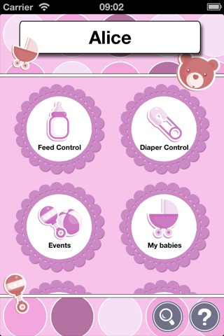 iBabyControl screenshot 1