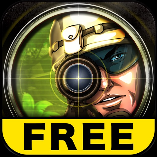 Elite Sniper Warfare: Jungle Combat HD, Free Game iOS App