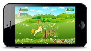 Screenshot von Pretty Little Pony Spiel - My Fun Nette Jumping Ausgabe3
