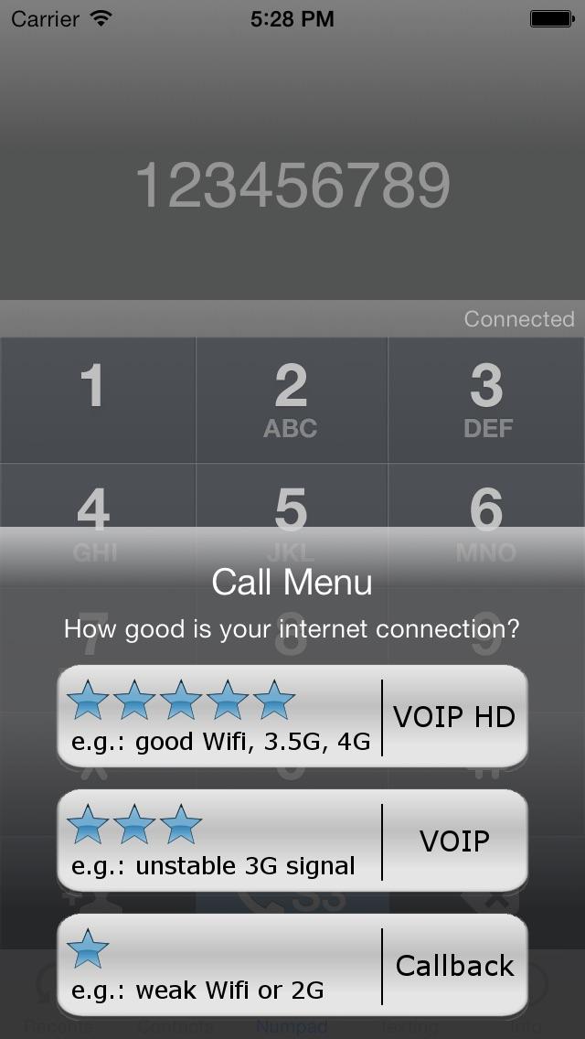 S3Phone Appels GratuitsCapture d'écran de 2