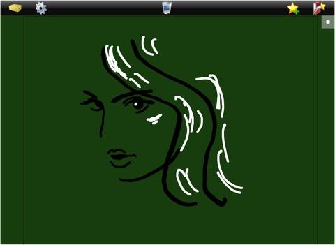 Tableau sur iPad pour écrire dessiner noter à la main screenshot 4