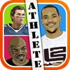 Athlete Pop Quiz Trivia - a game to guess what's real hero player in football, basketball, and more sports