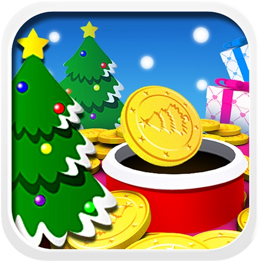 弹射金币圣诞版:Coin Flick Christmas【欢乐小游】