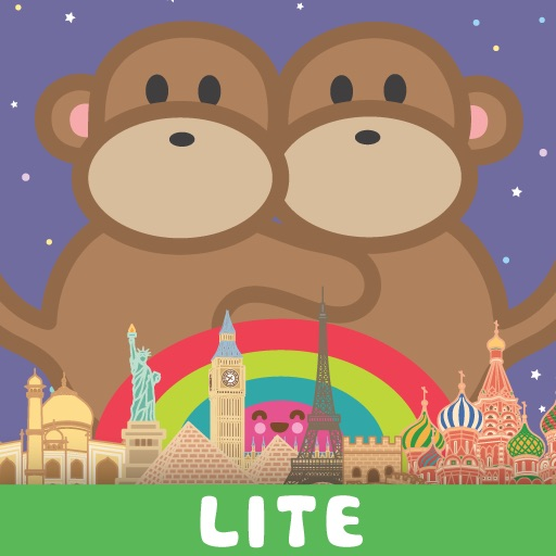 Kiwi and Pear's World Adventure Lite iOS App