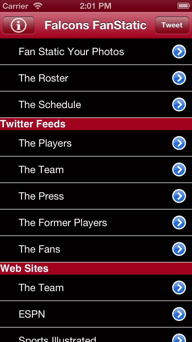 download Falcons Fan Static apps 0