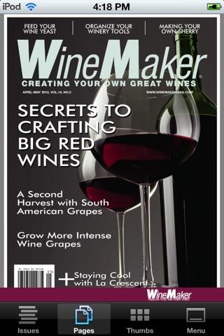 WineMaker Magazine Mobile Скриншоты3