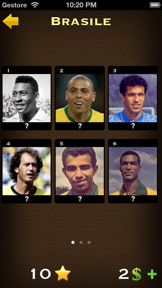 Screenshot of Calcio Quiz: Calciatori del Mondo3