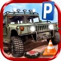 3D Mine-Field Parking Simulator - Real War Trucker Car Driving Test Park Sim Racing Games Free icon