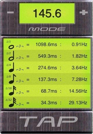 BPM Tap Tempo screenshot 2