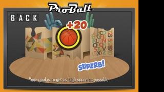 Screenshot of Proball/Pro palla4